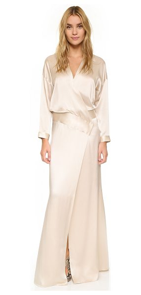 MASON BY MICHELLE MASON Oversized wrap gown - An exaggerated Mason by Michelle Mason wrap gown...