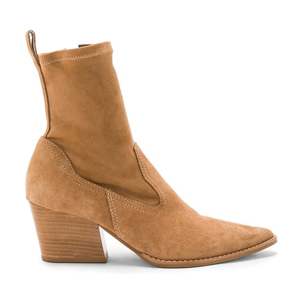 "MATISSE Flash Bootie - ""Suede upper with man made sole. Side zip closure. Heel..."