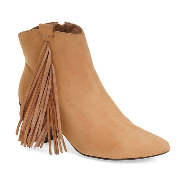 MATISSE shields fringe bootie - Soft leather and a cascade of tassels perfect a...