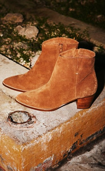 MATISSE Vegan jessa ankle boot - Luxe suede ankle boots featuring a pointed toe and...