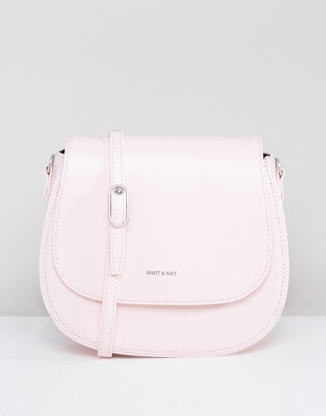 Matt & Nat Matt & Nat Rubicon Saddle Bag in pink