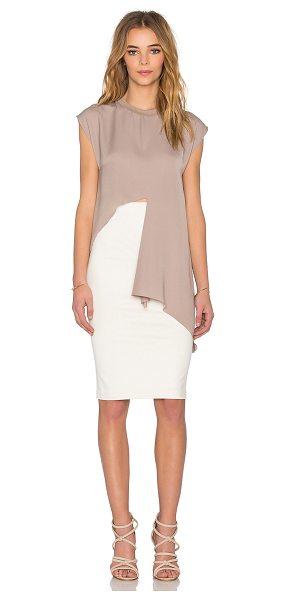 MAURIE & EVE Duccio top - 100% poly. Hand wash cold. Asymmetric hem. MAUR-WS42....