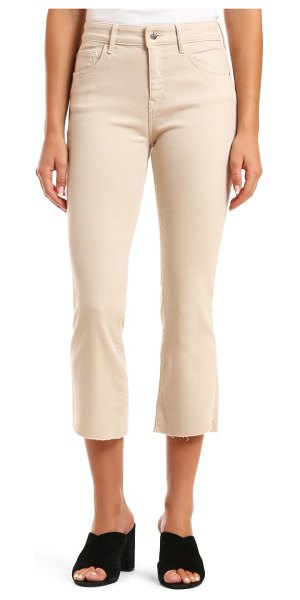 Mavi Jeans anika high waist crop jeans in beige