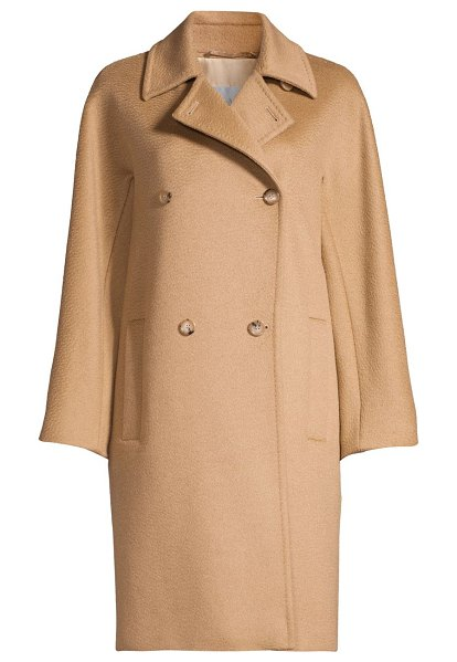 Max Mara baleari tailored camel hair coat in camel