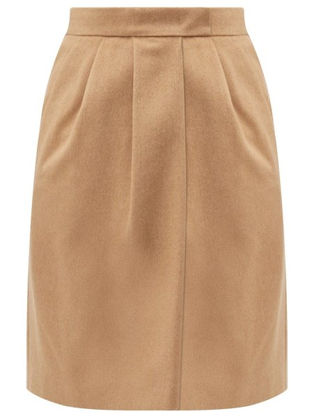 Max Mara dany skirt in camel
