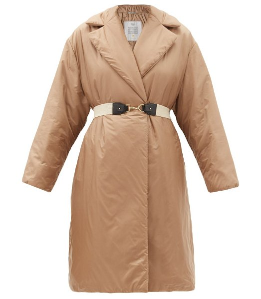 Max Mara greenco coat in camel