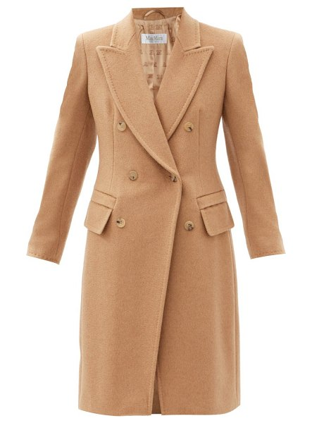 Max Mara patrik coat in camel