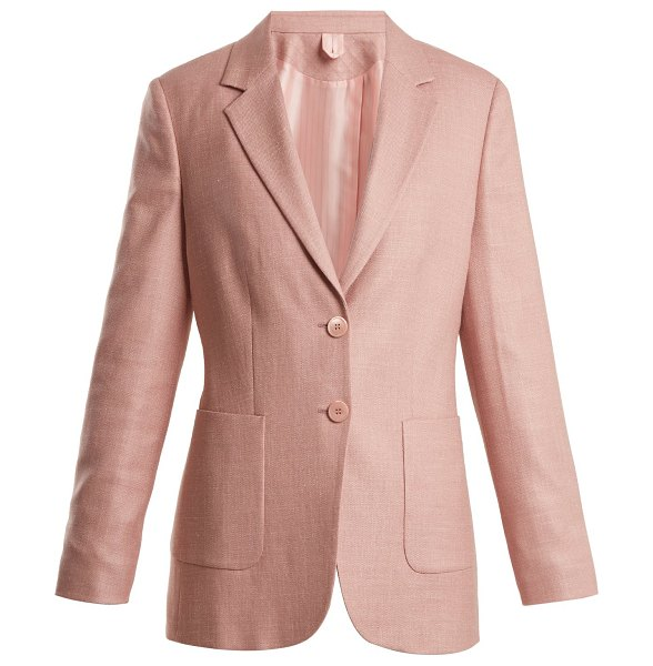 Max Mara zante jacket in light pink