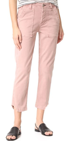 McGuire Denim saint marie utility trousers in terracotta
