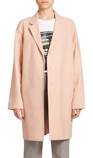 McQ by Alexander McQueen Stretch-wool boyfriend coat in palepink