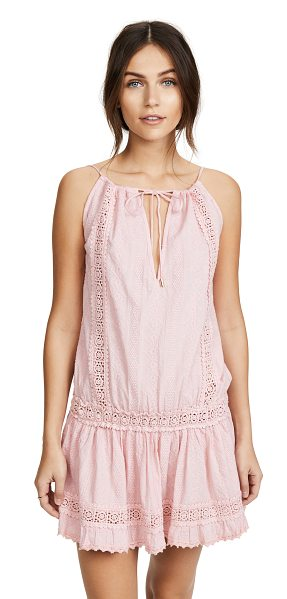 MELISSA ODABASH chelsea dress - An airy Melissa Odabash dress accented with tonal lace...