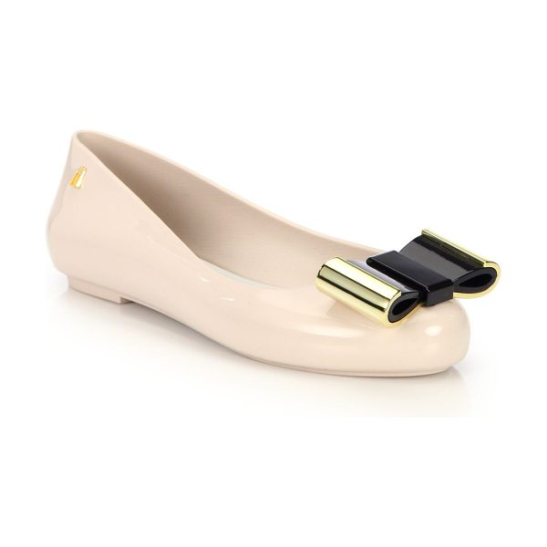 MELISSA Space love ii bow ballet flats - Chic ballet style with bow accentPVC upperPVC lining and...
