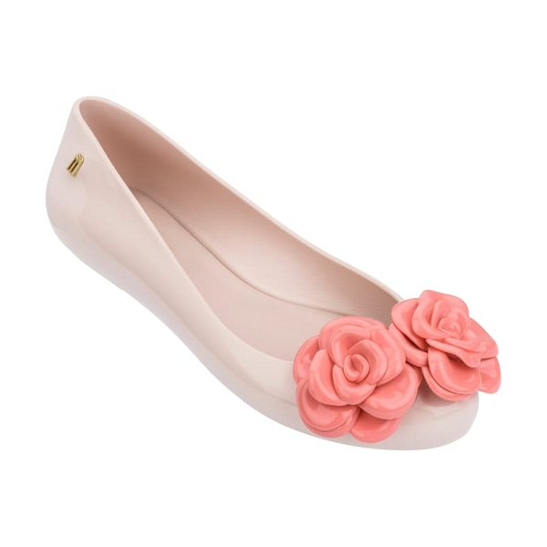 Melissa space lover flower jelly flat in pink