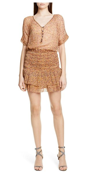 MES DEMOISELLES ambroisie minidress in beige