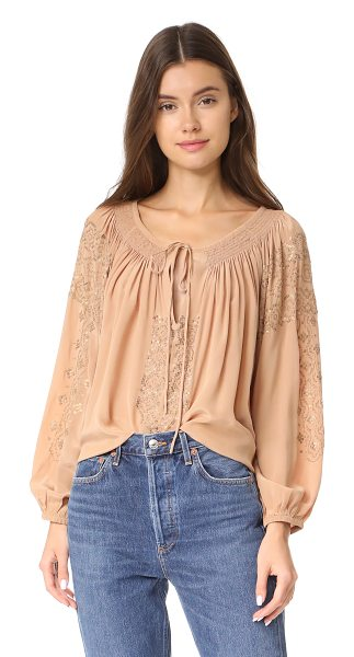 MES DEMOISELLES tara top - This swingy, washed silk Mes Demoiselles blouse is...