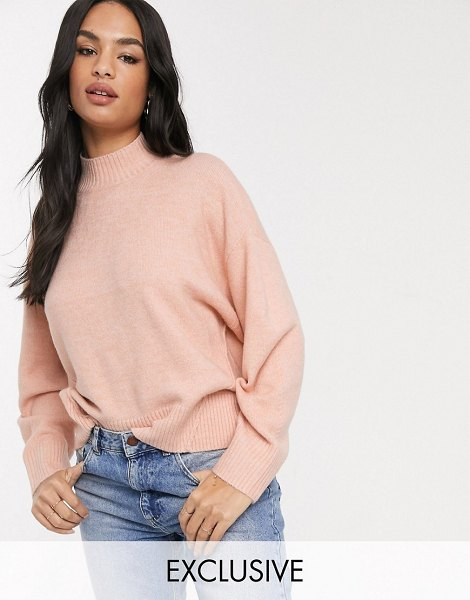 Micha Lounge relaxed sweater-pink in pink