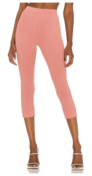 Michael Costello x revolve brooke capri pant in rose pink