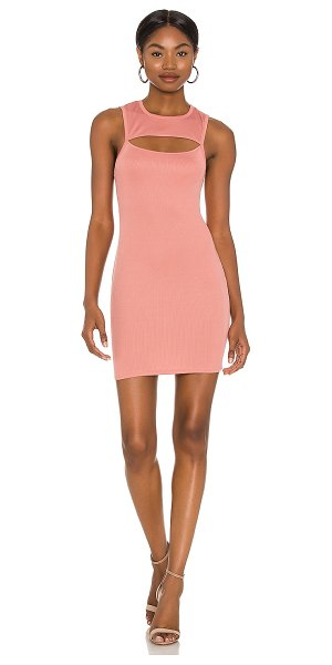 Michael Costello x revolve catherine mini dress in rose pink