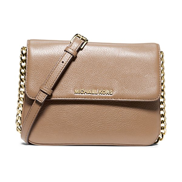 Michael Kors Bedford leather crossbody in natural