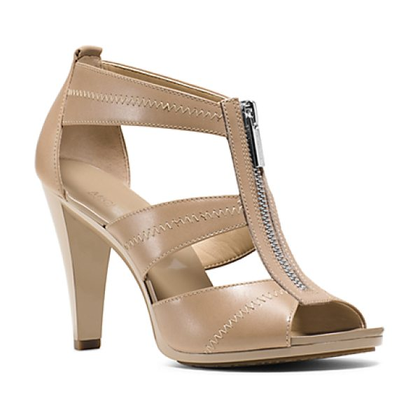 MICHAEL KORS Berkley Leather Sandal - The Key To Step-By-Step Glamour: Our Berkley Pumps....