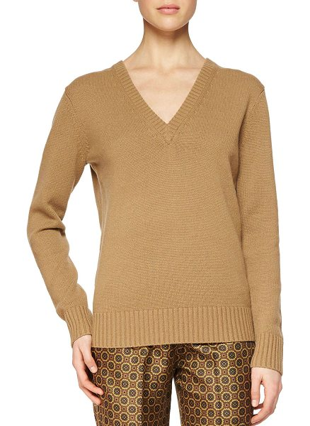 MICHAEL KORS Cashmere v-neck sweater -  Michael Kors cashmere knit sweater. Approx....