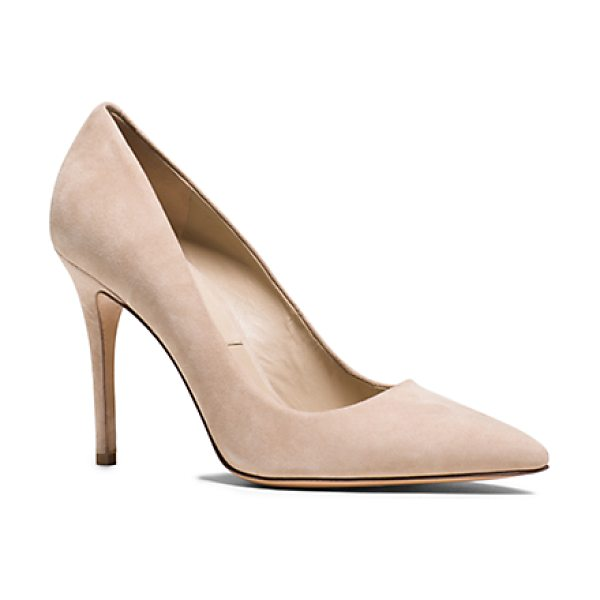 Michael Kors Collection Aarons Suede Pump in natural - Impeccably Crafted From Sumptuous Brushed Suede Our...
