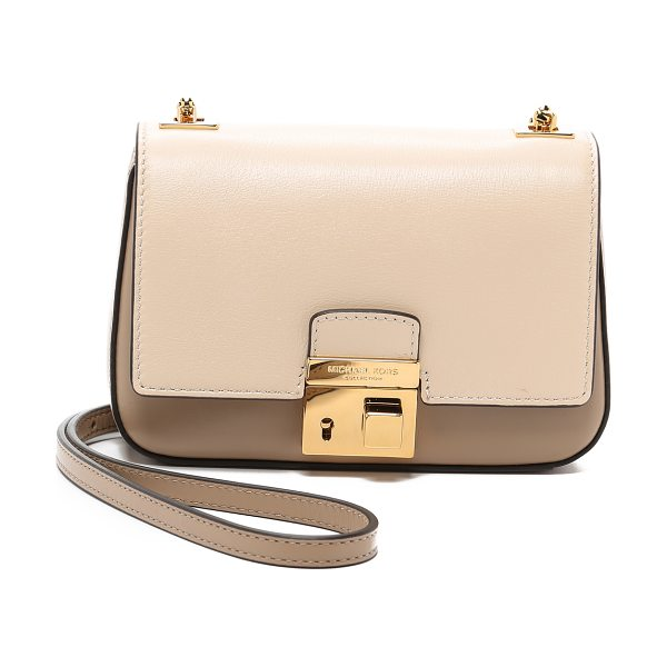 Michael Kors Collection Gia small chain bag in dune - A petite Michael Kors Collection cross body bag in...
