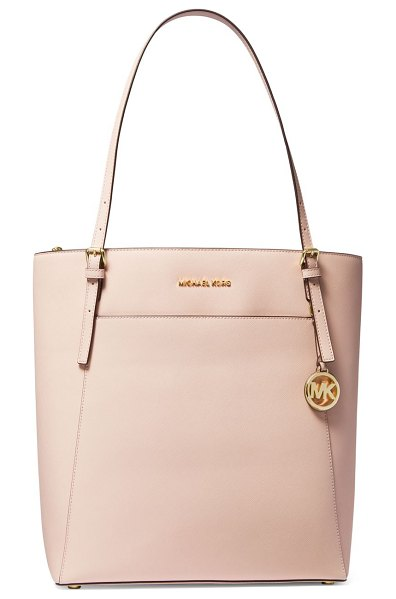 Michael Kors Collection large voyager leather tote in soft pink