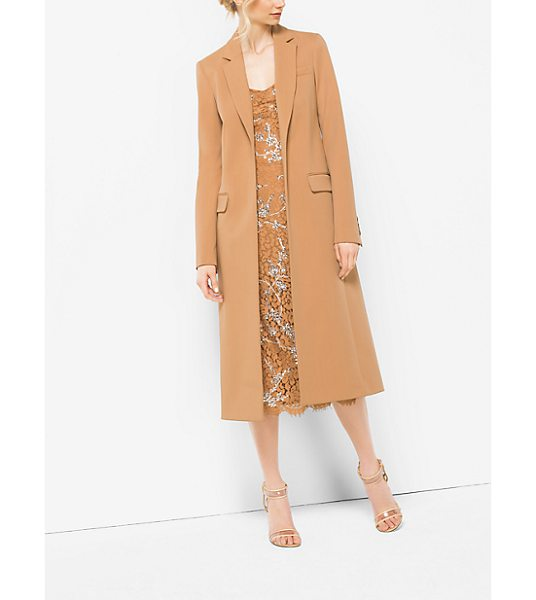 Michael Kors Collection Wool Reefer in natural - In This Changing World Every Woman Needs A Coat She Can...