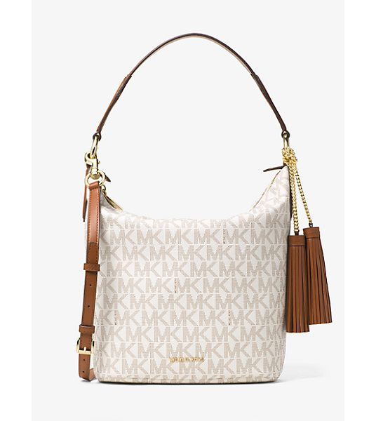 Michael Kors Elana large logo shoulder bag - A shoulder bag with signature appeal the Elana is...