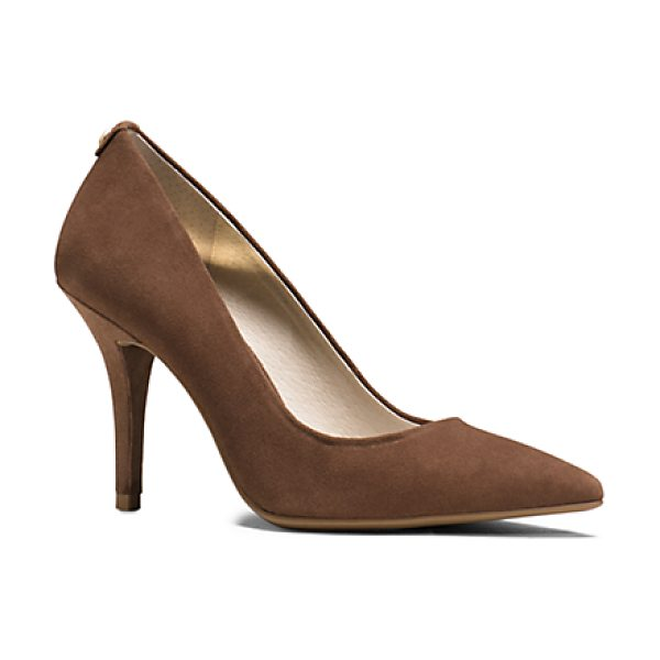 MICHAEL KORS Flex Suede High-Heel Pump - Impeccably Crafted From Sumptuous Brushed Suede Our...