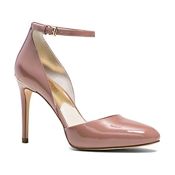 Michael Kors Georgia Patent-Leather Pump in pink - These Beautifully Sculpted Pumps Will Lend Instant...