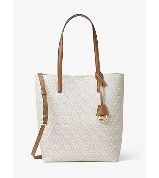 MICHAEL KORS Hayley Large Logo North-South Tote - A Logo Print Gives Our Hayley Tote Signature Style While...
