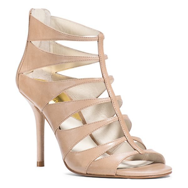 MICHAEL KORS Mavis Open Toe in natural - Dance The Night Away With Our Mavis Pumps A Glamorous...