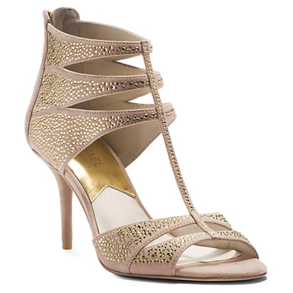 MICHAEL KORS Mavis T Strap - Lend Your Evening Ensembles Dazzling Detail With Our...