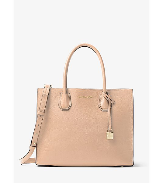 Michael Kors Mercer Large Leather Tote -