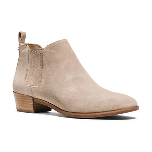 Michael Kors Shaw Suede Ankle Boot in natural - Rely On Our Shaw Ankle Boots To Ground Your Wardrobe...