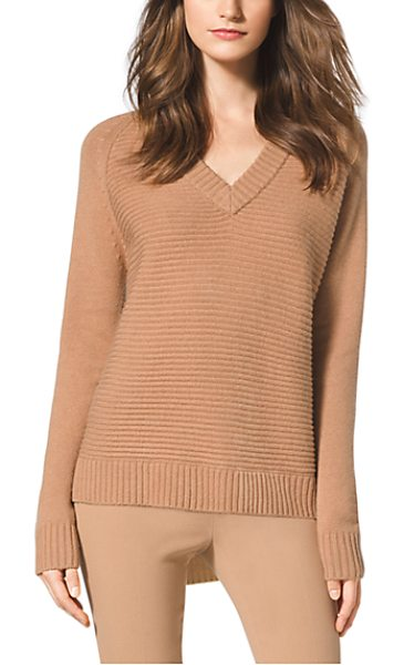 Michael Kors Wool And Cashmere-Blend Sweater in natural - In A Rich Blend Of Wool And Cashmere This Seasonless...