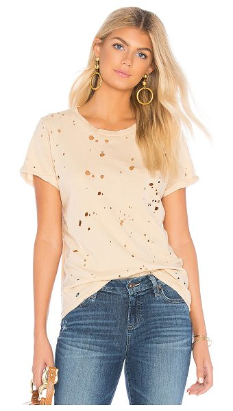 Michael Lauren Fallon Tee in cream
