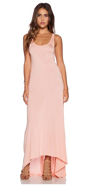 Michael Lauren Raven asymmetrical dress in peach - 100% micro modal. Dry clean recommended. Asymmetrical...
