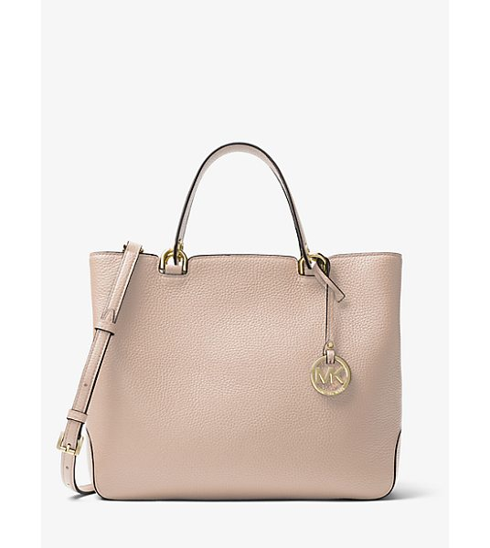 MICHAEL Michael Kors Anabelle Leather Tote in pink