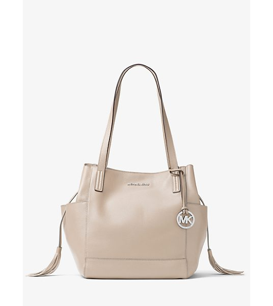MICHAEL Michael Kors Ashbury Large Leather Shoulder Bag -