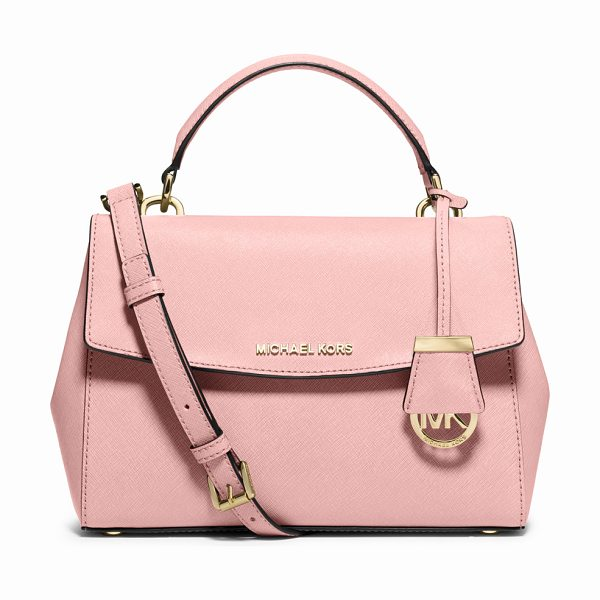 MICHAEL MICHAEL KORS Ava small saffiano leather satchel bag - MICHAEL Michael Kors saffiano leather satchel bag....