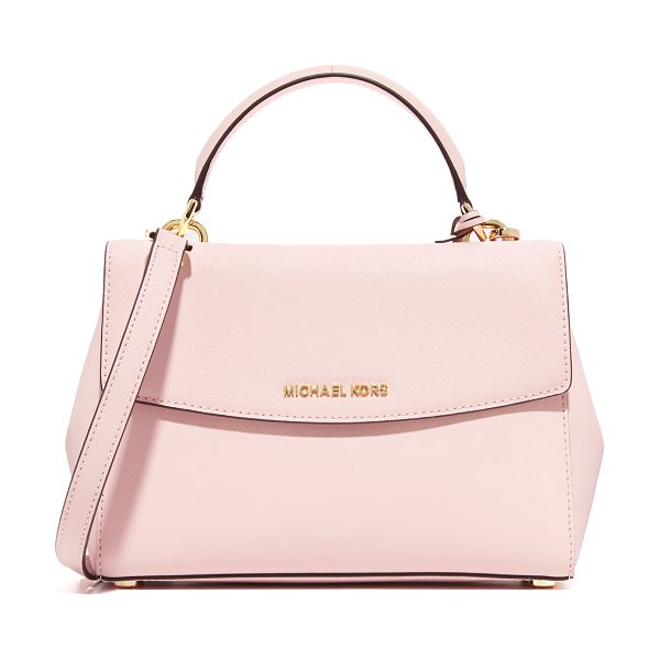 MICHAEL Michael Kors Ava small satchel in blossom - A structured MICHAEL Michael Kors cross body bag in...