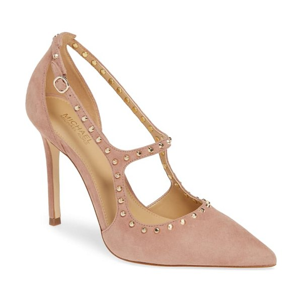 MICHAEL Michael Kors ava studded pump in pink