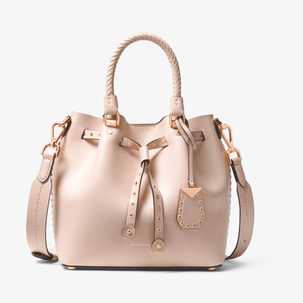 d6bc6d90cdc MICHAEL Michael Kors Blakely Small Grommeted Leather Bucket Bag ...
