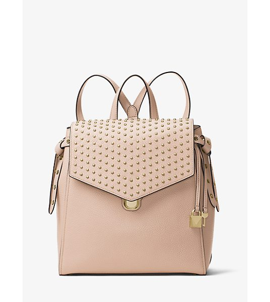 MICHAEL MICHAEL KORS Bristol Medium Studded Leather Backpack - From Morning Errands To Nights On The Town The Bristol...