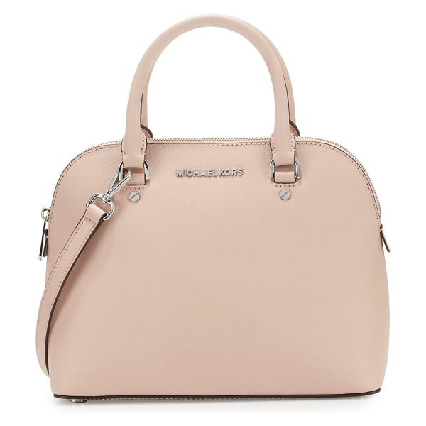 MICHAEL MICHAEL KORS Cindy medium dome satchel bag -  MICHAEL Michael Kors saffiano leather dome satchel bag....
