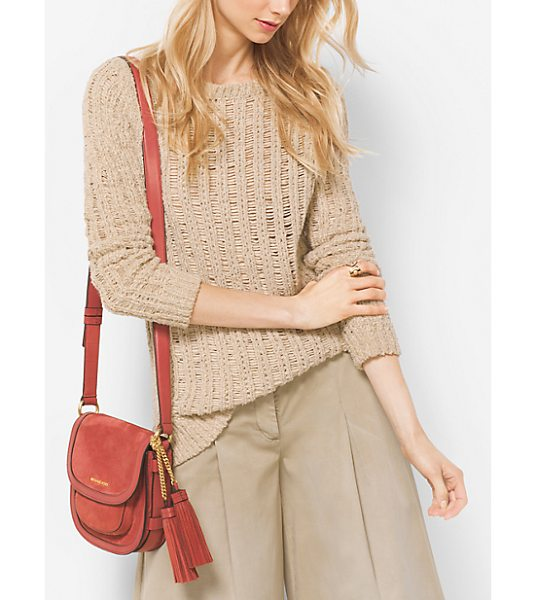 MICHAEL Michael Kors Cotton Boatneck Sweater in natural - Effortlessly Elegant And Versatile This Boatneck Sweater...