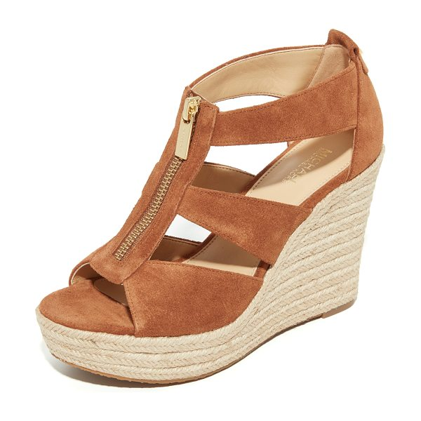 MICHAEL Michael Kors damita wedges in luggage